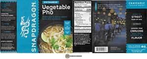 #3812: Snapdragon Vietnamese Vegetable Pho - United States