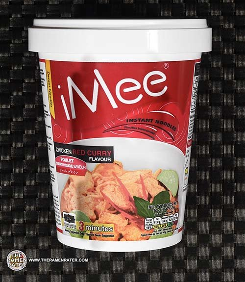 #3791: iMee Chicken Red Curry Flavour Instant Noodles - Thailand