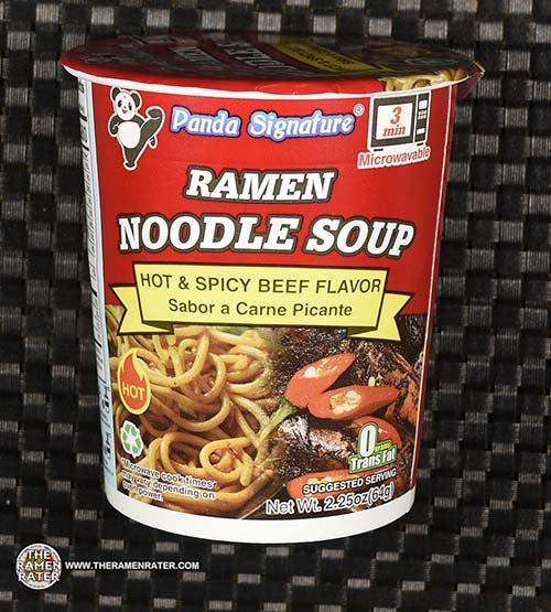 #3829: Panda Signature Ramen Noodle Soup Hot & Spicy Beef Flavor - United States