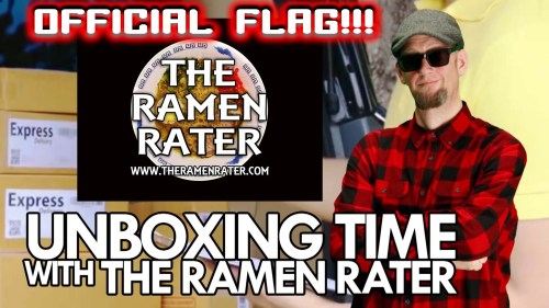 The Official Flag Of The Ramen Rater