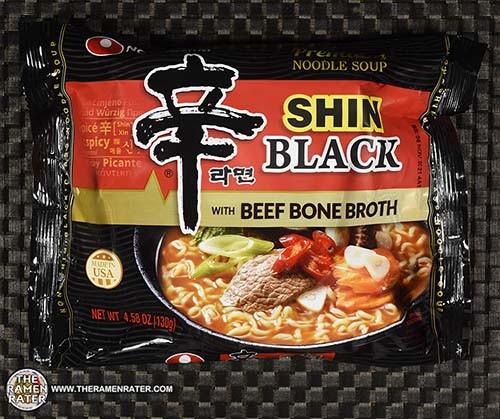 #3845: Nongshim Shin Black With Beef Bone Broth - United States