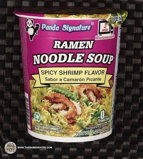 #3871: Panda Signature Ramen Noodle Soup Spicy Shrimp Flavor - United States
