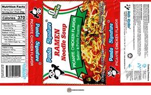 #387: Panda Signature Ramen Noodle Soup Picante Chicken Flavor - United States