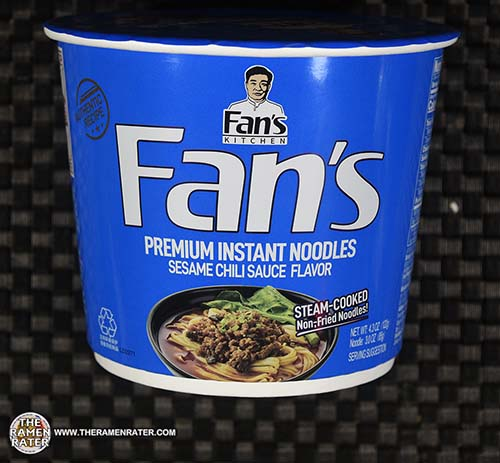#3881: Fan's Kitchen Premium Instant Noodles Sesame Chili Sauce Flavor - China