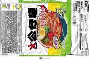 #3920: Doll Ramen Noodles Spicy Artificial Pork Flavour - Hong Kong