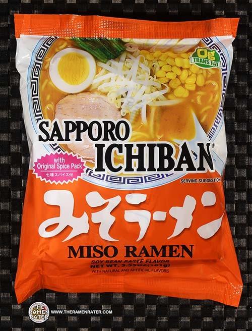 #3934: Sapporo Ichiban Miso Ramen / Garlic / Kewpie Mayonnaise / Egg Version - Japan