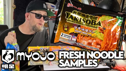 Myojo USA Sends Fresh Ramen & Yakisoba Samples