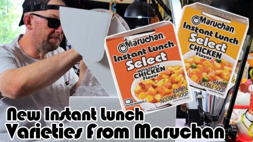 New Instant Lunch Varieties From Maruchan!