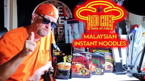 Red Chef Sends Samples All The Way From Malaysia!