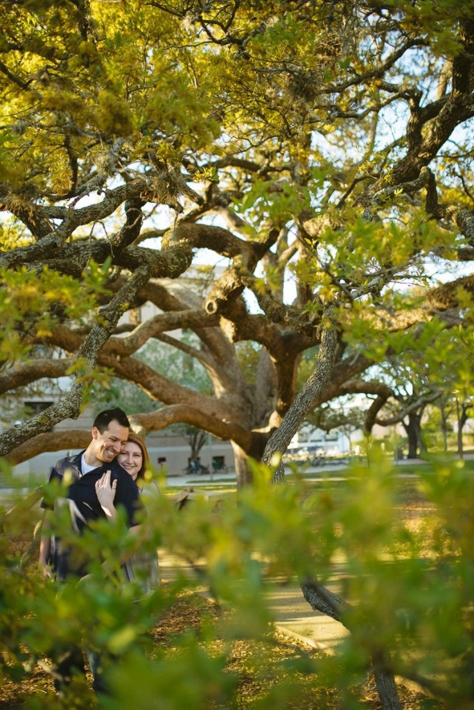 centurty tree engagement pictures 1