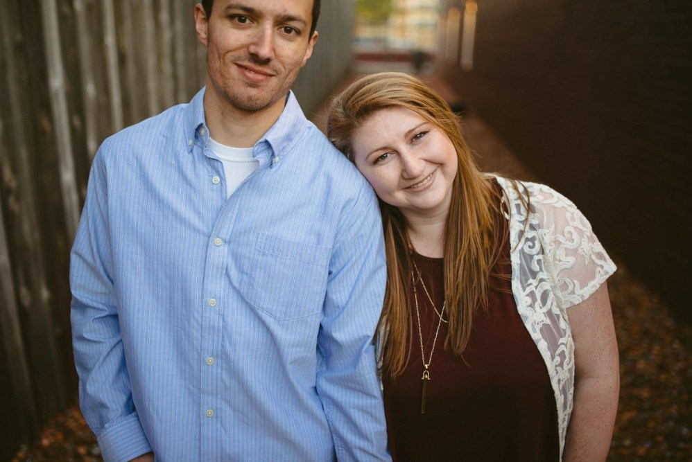 college station bottlecap alley engagement pictures
