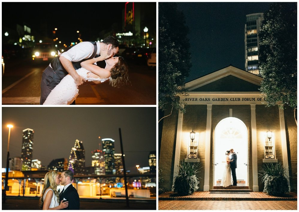 wedding portraits with flashes