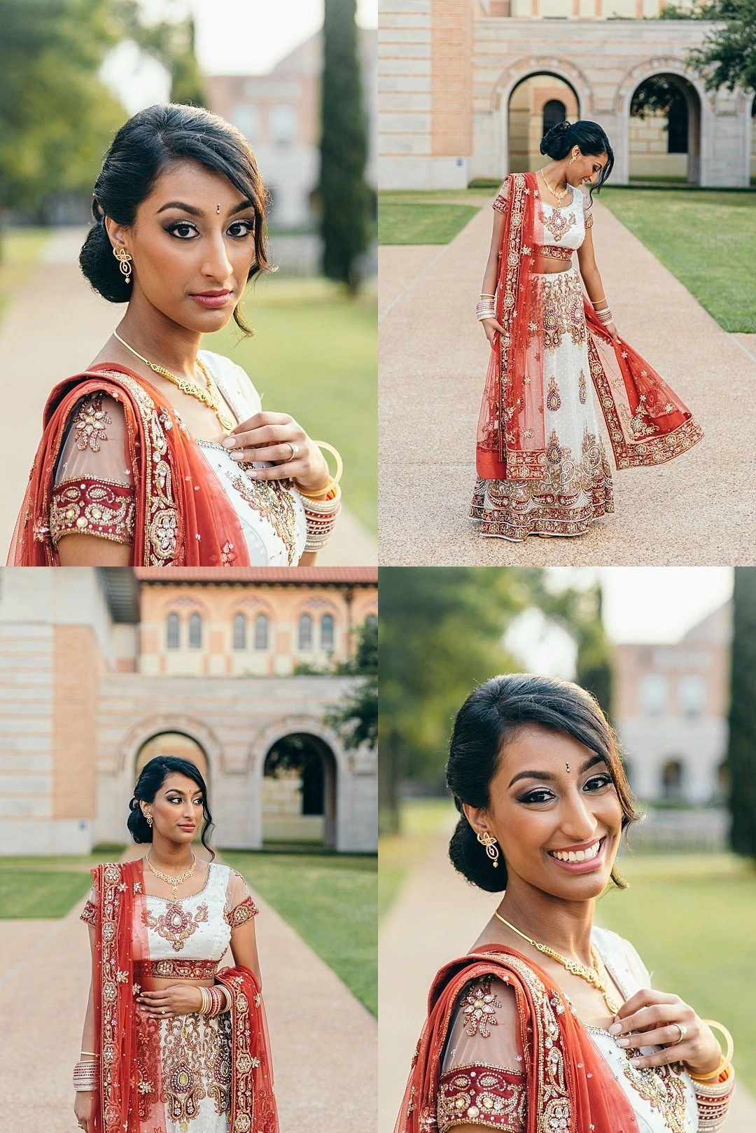 Bridal portraits in lehenga