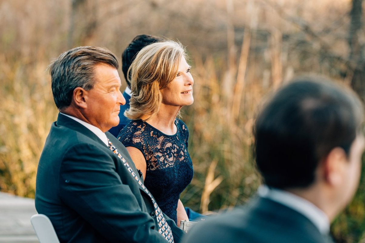 family watching elopement