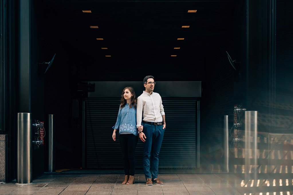 theater district engagement picture