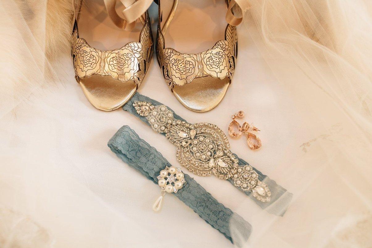 harriet wilde shoes and blue garter