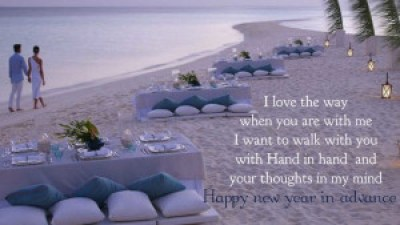 Romantic new year wishes for girlfriend images hd