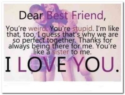 cutest Happy Birthday quotes best friend sister images