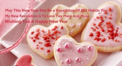 Happy New Year Greetings for Girlfriend