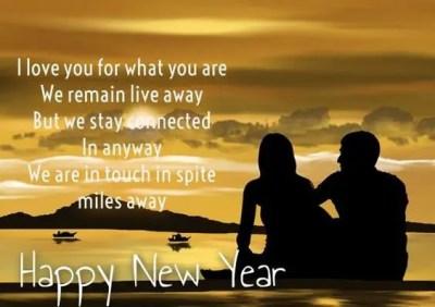 Happy New Year Msg Fiancee