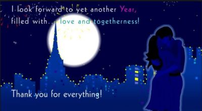 New Year Wishes for Girlfriend
