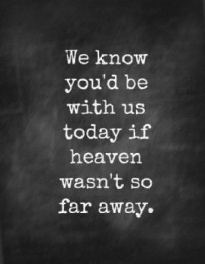 Sad Quotes about Losing Loved One in heavens Images