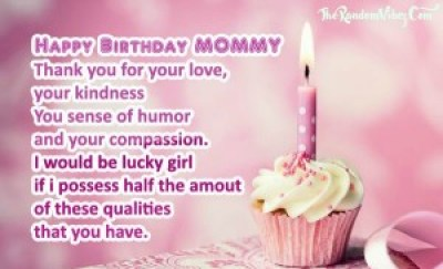 Quotes saying Happy Birthday Mom Images