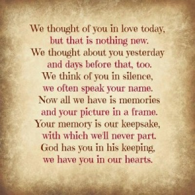 Touching Quote about Losing a Loved One Images