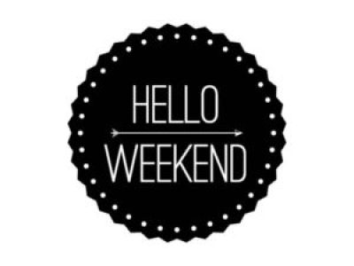 Weekend Quotes Black and White