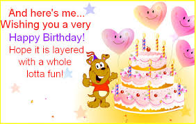 funny birthday wishes with cake