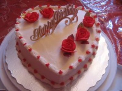 Happy Birthday Heart Cake Images