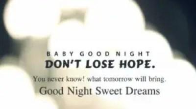 Good Night Baby Quotes