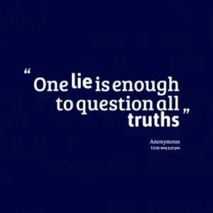 trust no one believe in yourself