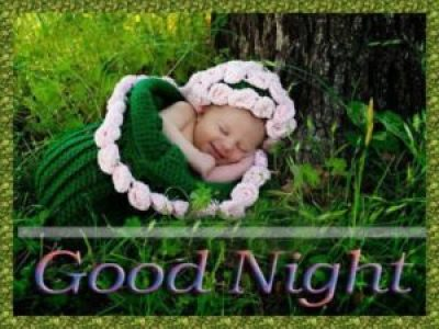 Cute and Amazing Good Night Baby Images