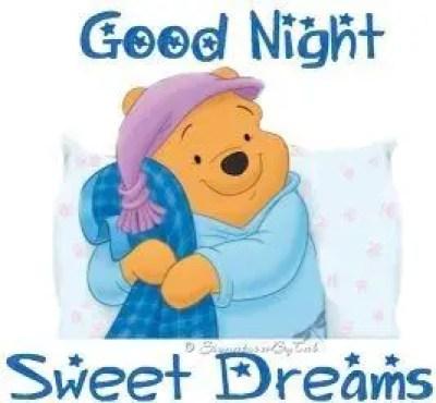 Cute good night cartoon image