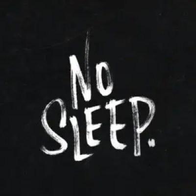 No Sleep Quotes Image