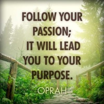 Oprah Winfrey QUotes about Passion