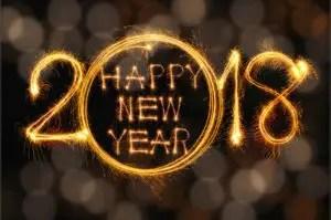 Happy New Year 2018 HD Image