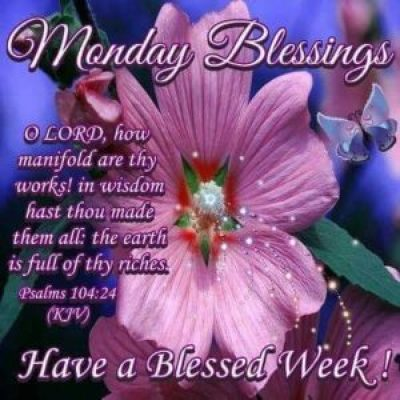 Blessed Monday Morning Wishes