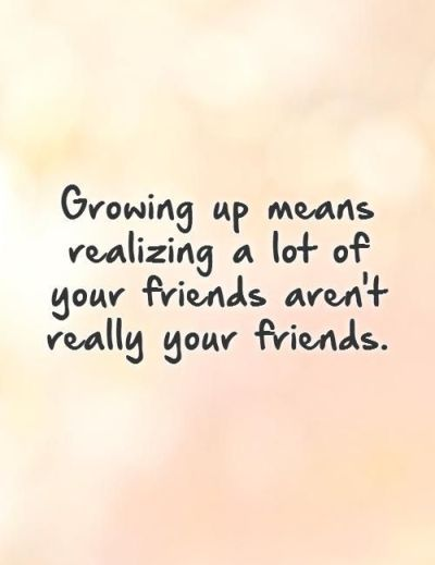 Fake Friendship Quotes