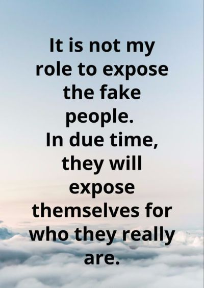 Fake People And Fake Friends Quotes