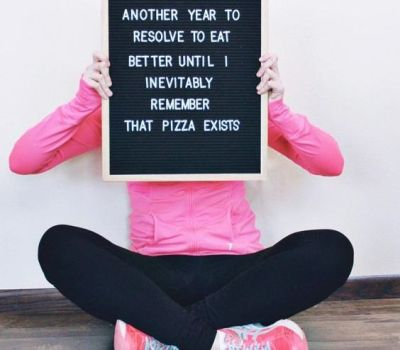 Funny Realistic New Year's Resolution