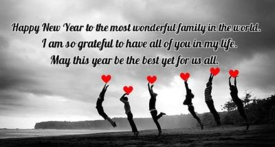 New Year Greetings For Family