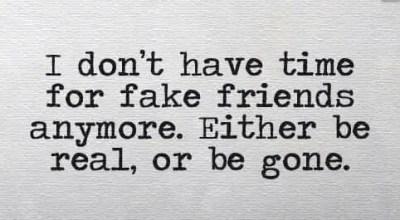 Sarcastic Fake Friendship Quotes