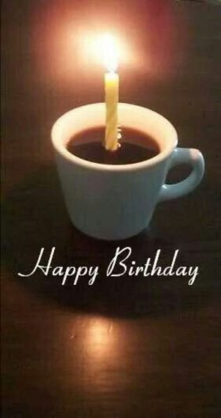 Funny Happy Birthday Coffee Images