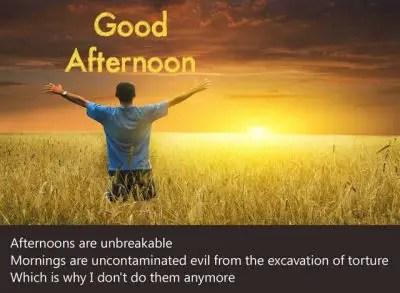 Motivational Good Afternoon Pics