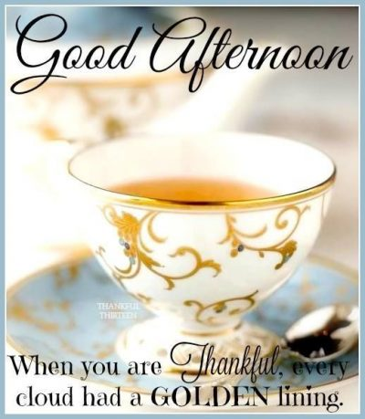 Wishing you a Good Afternoon