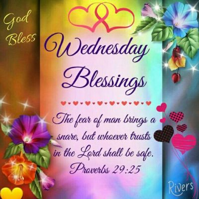 Bible Verses On Blessed Wednesday