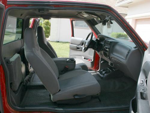 2002 Ford Ranger Interior