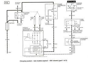 1991 Ford ranger radio wiring diagram
